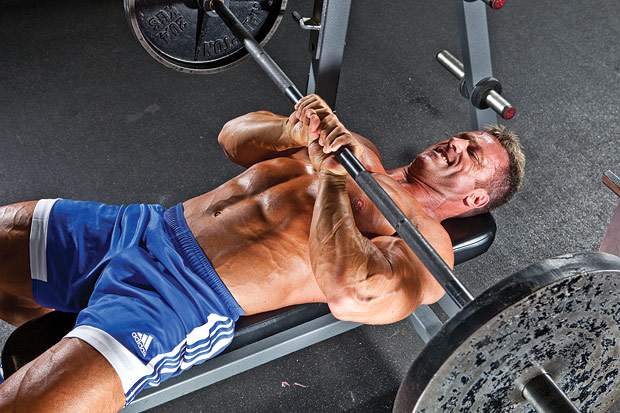 Close Grip triceps Bench Press